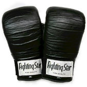[USED品] FightingStar パンチンググローブ  黒 Mサイズ [u17-592-fightingstar-gv--bk-m]